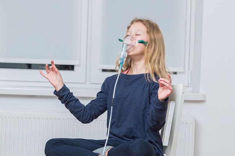 Inhalative Sauerstofftherapie